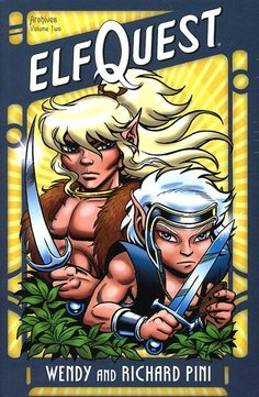 Elfquest!   the whole series is awesome :D
