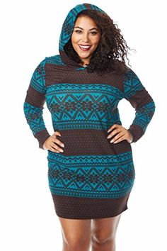 Fashion Bug Womens Ladies Plus Size Sweater Dress Casual www.fashionbug.us #plussize 1X 2X 3X 4X 5X 6X