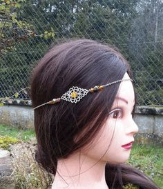 Headband bohème hippie ethnique folk gipsy by ladiejaneclothes