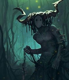 Swamp Creature Demon Art Monsters Moon Goddess Fantasy Inspiration Character Inspiration