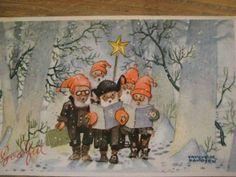 trygve davidsen  - Nisser singing Christmas music