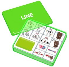 Amazon.com: LINE CHARACTER LINE TOWN Stamp Collection Cony & Brown: Toys & Games