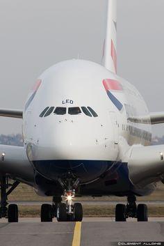 British Airways Airbus A380-841 G-XLED (cn 144).