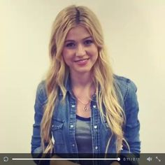 An exclusive video from Katherine McNamara on Twitter, who has been cast as Clary Fray in #Shadowhunters