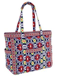 "This mom is hoping for ... ""A Get Carried Away Tote in Sun Valley because it's the perfect travel tote or day away bag for me and my 6 month old."" - Amanda C., Design Associate 