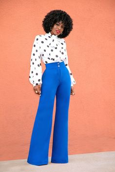 Outfit Details: Blouse (H&M): Similar here (luv this. Personally, I'd have the peplum hem removed), here (must have) or there (this is chic!) Pants (FKSP): Available here (wearing size xs) | Shoes: Gu