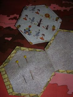 monkey beans: Hexagon Needle Book ~ Tutorial
