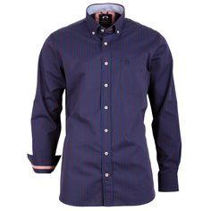 #Herrenhemd marineblau