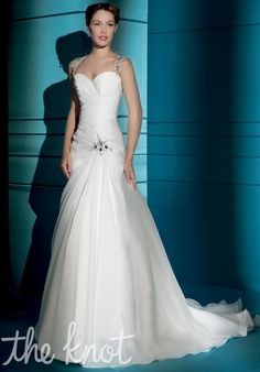 Check out this #weddingdress: 3159 by Demetrios via iPhone #TheKnotLB from #TheKnot