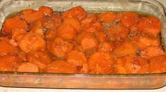 Grandma s Thanksgiving Sweet Potato Yams from Food.com: This is an EASY recipe that my grandmother used to make. This is one of my favorites of hers. I don't like sweet potatoes, but I love these. I got the recipe from a friend of hers (she has passed) and decided to share. It's delicious and a sweet treat.