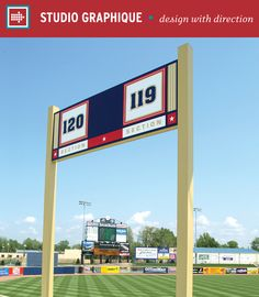 Eastlake Minor League Ballpark – Studio Graphique // Placemaking   Wayfinding   Venues