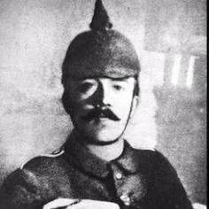 Adolf Hitler. World war I