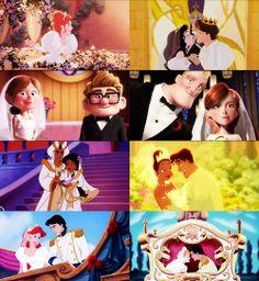Disney Weddings. I hope my wedding is as good as a disney wedding...