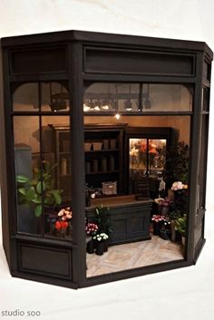 Miniatures. Flower shop 2. :: Studio Soo