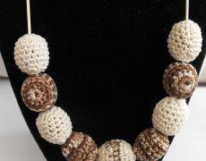 Nursing Necklace - crem