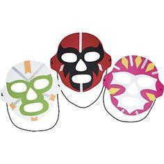 Lucha Libre Mask Kit