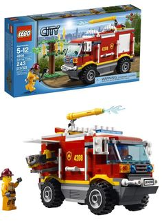 LEGO City 4x4 Fire Truck Building Set (for ages 5 -12) | Shared by LION