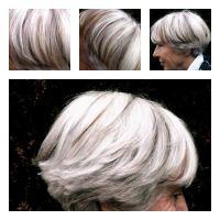 Canas/Cortes bob (Gray hair/Bob cuts) on Pinterest | Gray Hair, Grey