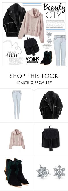 """Yoins"" by water-polo ❤ liked on Polyvore featuring H&M, Rupert Sanderson, Bling Jewelry, polyvoreeditorial and yoins"