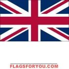 5' x 8' United Kingdom High Wind, US Made Flag