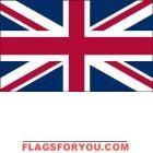 5' x 8' United Kingdom High Wind, US Made Flag