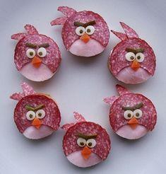 Jednohuky Angry birds