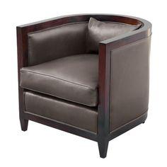 club chair room and board | Found on olystudio.com
