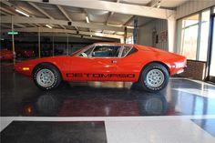 1972 PANTERA DE TOMASO 2 DOOR COUPE - Barrett-Jackson Auction Company - World's Greatest Collector Car Auctions