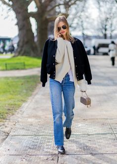 Street Style: Sasha Luss Mixes Parisian With Grunge