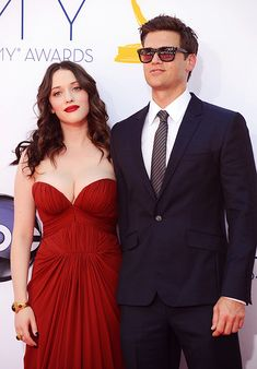 Kat Dennings and Nick Zano love her and well him haha