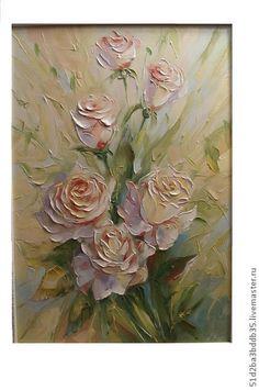 Flower Painting Canvas, Oil Painting Flowers, Flower Canvas, Texture Painting, Abstract Canvas, Flower Art, Encaustic Art, Painting Techniques, Art Oil