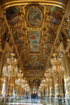 Gorgeous Paris Opera | Picture Store