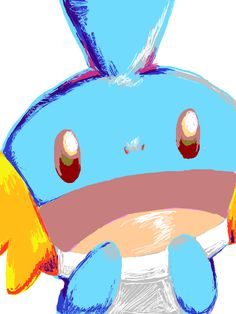 Mudkip is such a cutie ♡♡---- I want this in m dorm so badly right now....