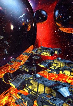 Fantasy Artworks by David Mattingly работ) Space Fantasy, Fantasy Artwork, Fantasy World, Fort Collins, Art Science Fiction, Perry Rhodan, Colorado, 70s Sci Fi Art, Futuristic Art