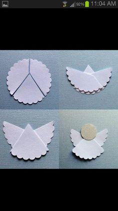 Angel de papel