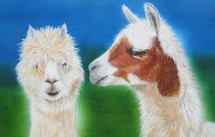 Acrylic Alpacas