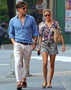 Johannes Huebl e Olivia Palermos Estilo Dia dos Namorados