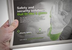 Atlantic Safety Centre Print Advertising