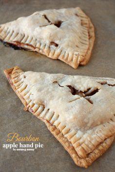 Bourbon Apple Hand Pies by Nutmeg Nanny #Truvia