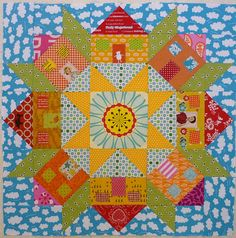 Tutorial: Swoon houses quilt block