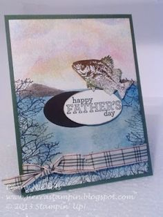 Stampin' Up! Father's Day Card by mrsscrapper - Cards and Paper Crafts at Splitcoaststampers