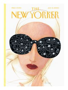 The New Yorker Cover - July 31, 2000 Poster Print by Ana Juan at the Condé Nast Collection