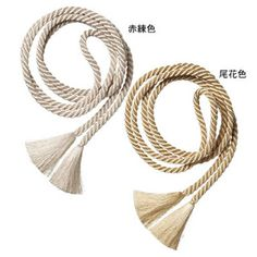 """Accessories Obi-age are gradated rinzu silk or shibori, and obi-jime are somewhat narrow like the """"kanze-hineri"""" or """"yurugi"""" (crown-style) types.  Naga-juban are unlined on the body part only, and are plain or gradated. Han-eri are white shioze, habutae, or chirimen silk. For footwear, choose zori with slightly high heels in bright colors that coordinate with the kimono."""