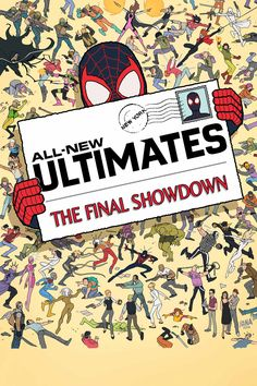 All New Ultimates #12 by David Nakayama. Marvel Comics.