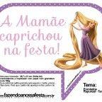 Plaquinhas Divertidas para Festa Rapunzel, Enrolados da Disney: