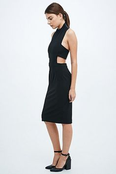 Solace Franklin Dress in Black