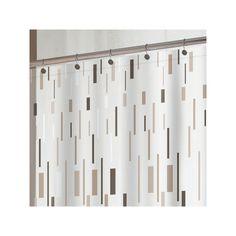 Splash Home Bars Vinyl Shower Curtain, Beig/Green (Beig/Khaki)