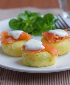 Somon Fümeli Mini Patates Pastası