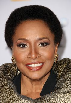 """Jenifer Lewis — """"I had surgery on my right arm – I couldn't reach up to comb my hair so i just cut it off — only to re-discover my beautiful nappy hair."""" via Afrobella"""