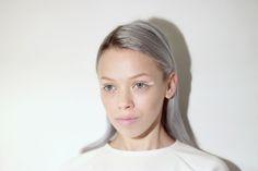Love Aesthetics x Nastygal white eyeliner 01 White Eye Pencil, Love Aesthetics, Blending Eyeshadow, White Eyeliner, Makeup Techniques, Grey Hair, Nasty Gal, Make Up, Face